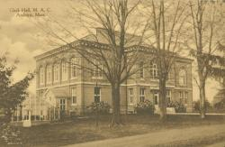 Clark Hall, Photo: Special Collections and University Archives, University of Massachusetts Amherst Libraries