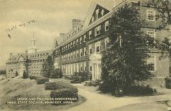 Lewis and Thatcher Halls