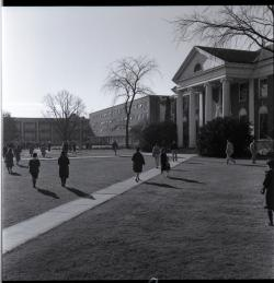 Goodell from north walk, November 18, 1960