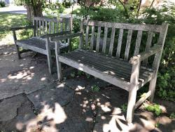 William Brown Nutting Tribute Bench
