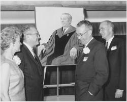 Portrait unveiling, June 4, 1967