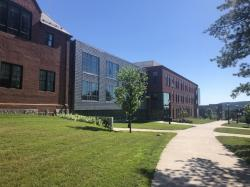 North Side of South College, Former Site of 1895 MAC Tree
