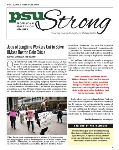 PSU Strong Newsletter