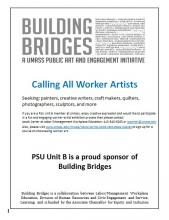 Building Bridges - Calling All Worker Artists