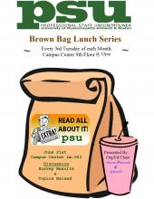 Amherst: Brown Bag Lunch, third Tuesday of each month, Campus Center 903