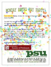 Celebrate Retoractive Pay Poster