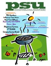 PSU Amherst Cookout 12-2pm Fri Sept 23rd