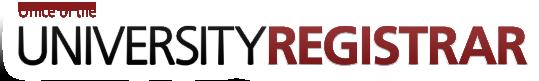 Office of the University Registrar logo