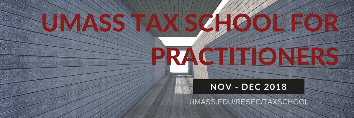 UMass Tax School