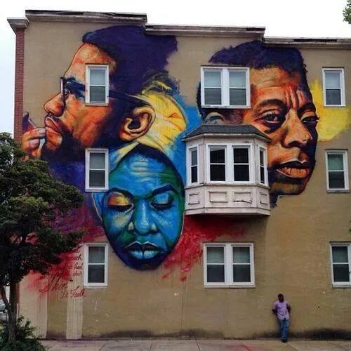Mural in Baltimore, Maryland  Photo Credit: The Real News Network
