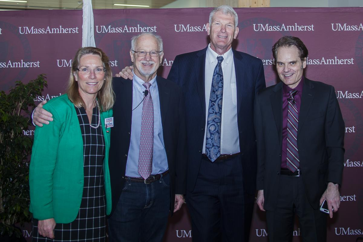UMass School of Earth & Sustainability leading researchers climate change, sustainability