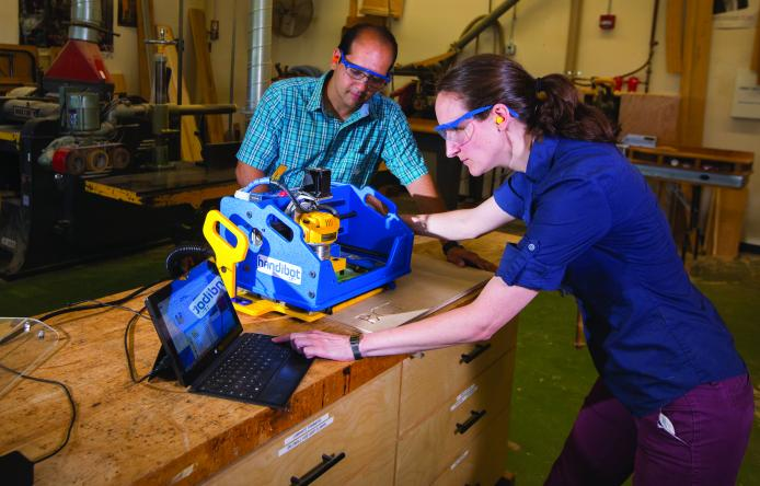 UMass School of Earth & Sustainability Building & Construction Technology trains students with valuable hands-on experience and skills.  High job placement rates in BCT.