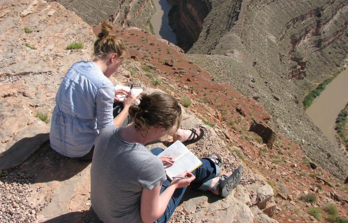 UMass Geology major science outdoors rocks