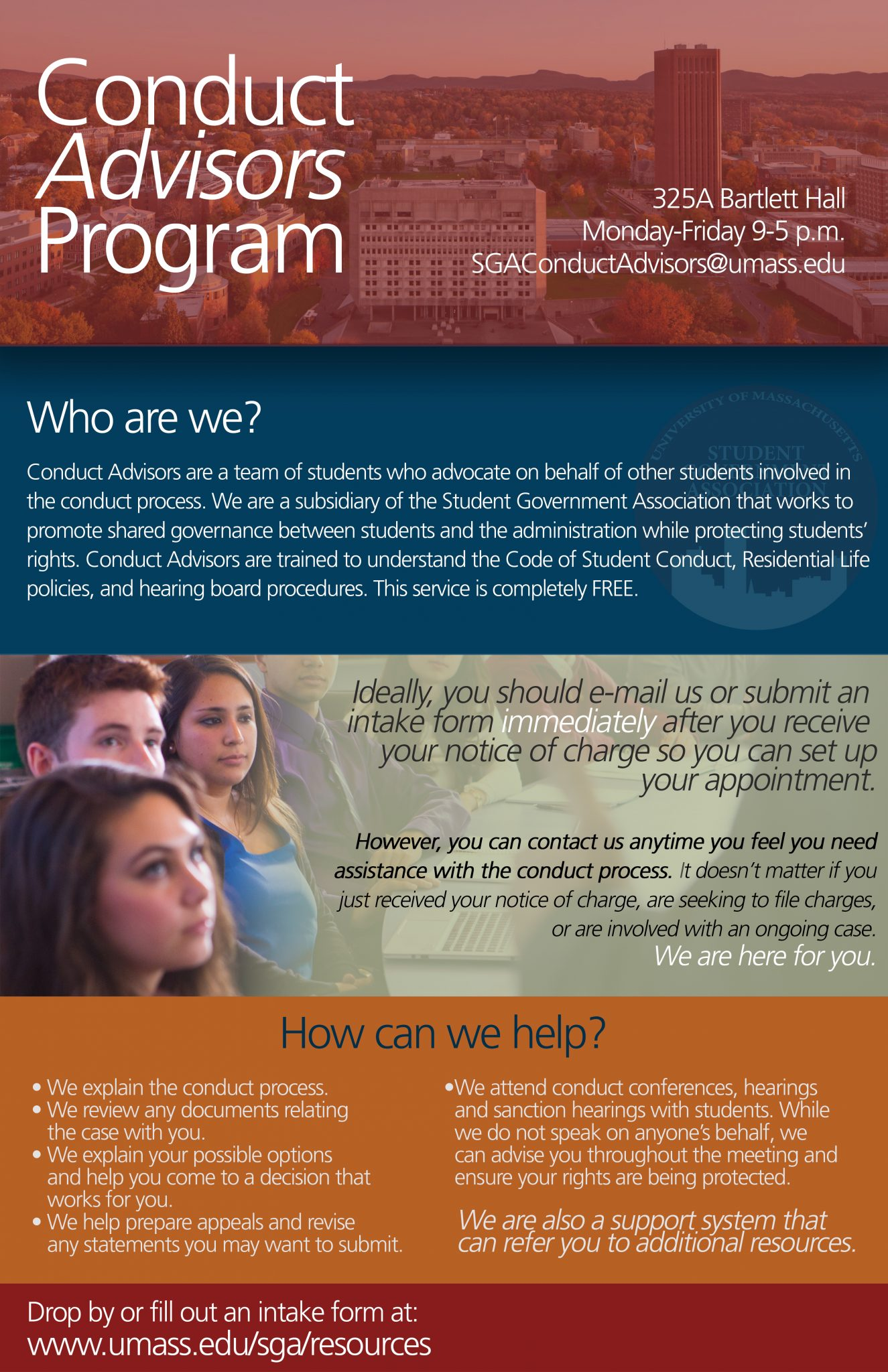 Conduct Advisers Flyer
