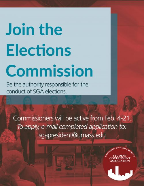 Flyer for Elections Commission