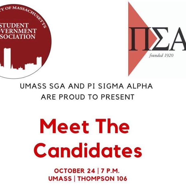 Poster for meet the candidates