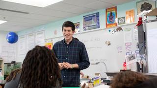 UMass Amherst student teaching