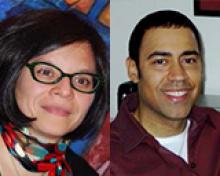 Mariana Ortega and Touré Reed