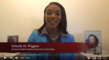 Graduate student Yolanda Wiggins | UMass Amherst Sociology