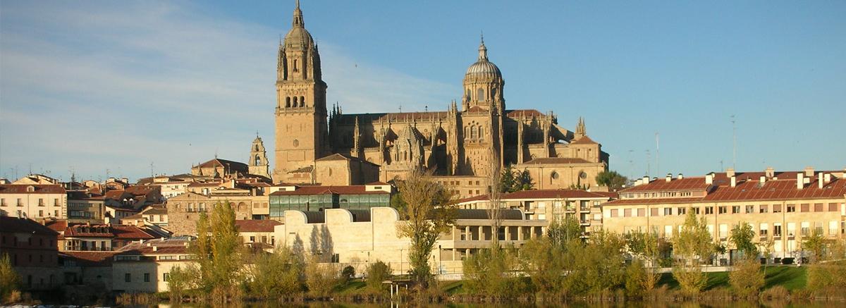 Cathedrals of Salamanca, Spain.