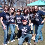 Aphasia walk students 2012