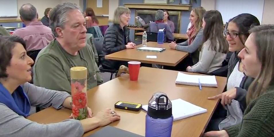 Communication Disorders students connect with Parkinson's community