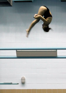 Michaela Butler Diving