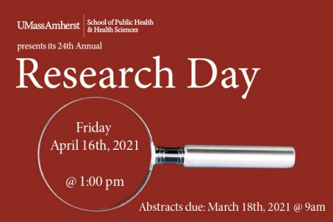 Research Day 2021 event flyer