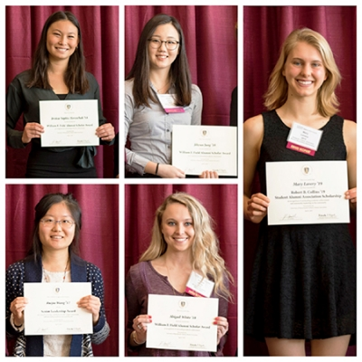 University of Massachusetts Amherst Alumni Association awardees from the School of Public Health and Health Sciences (SPHHS)