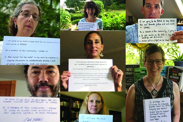 SPHHS faculty and staff pledge their support to combat systemic racism