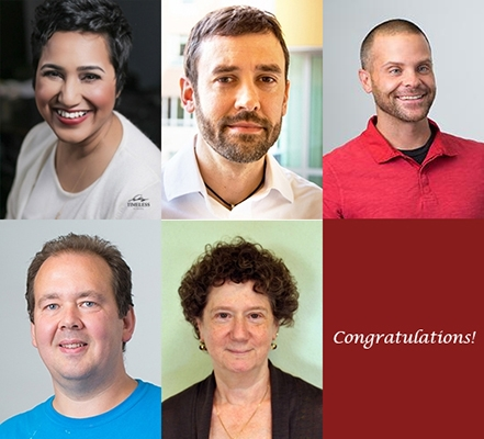 SPHHS Faculty Awarded Tenure or Promotion Fall 2019