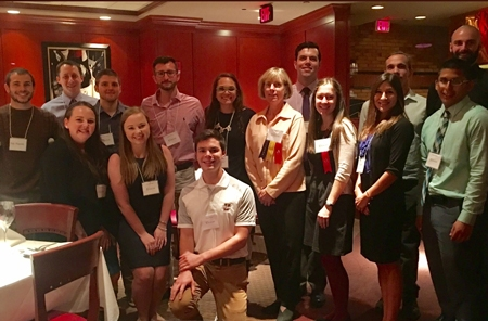 Kinesiology students win NEACSM awards and scholarships at