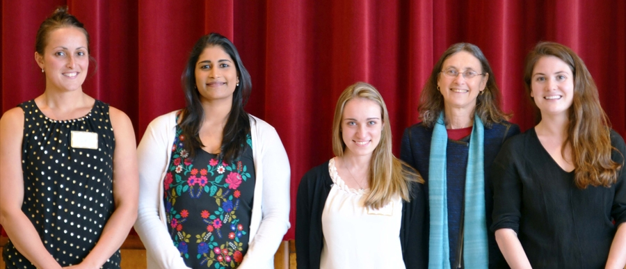 UMass Amherst School of Public Health and Health Sciences Research Day Award Winners