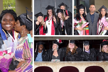 University of Massachusetts Amherst School of Public Health and Health Sciences Senior Celebration 2017