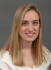 Epidemiology graduate student Lindsey M. Russo