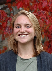 Health Promotion and Policy graduate student Mikaela Hammond Holland