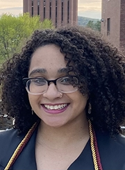 Health Promotion and Policy graduate student Tiarra Fisher