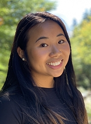Health Promotion and Policy graduate student Vivian Tran