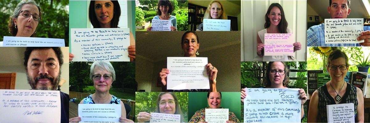 SPHHS faculty and staff pledge support to combat systemic racism