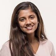 UMass Amherst Public Health Sciences major Aastha Pokharel