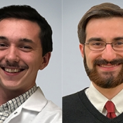 UMass Amherst students Christopher Clark and Joseph McGaunn