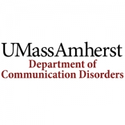 University of Massachusetts Department of Communication Disorders Logo