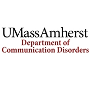 University of Massachusetts Department of Communication Disorders