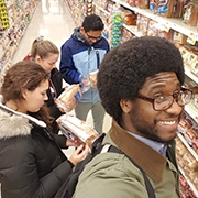 UMass Nutrition department grocery store tour