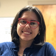 UMass Amherst Public Health Sciences major Karianne Santiago Ruiz