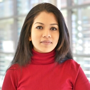 University of Massachusetts Amherst Nutrition doctoral student Sharmin Hossain