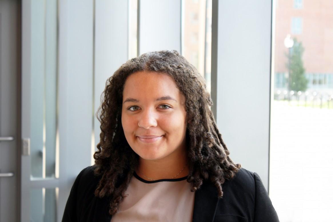 University of Massachusetts School of Public Policy (SPP) student Hadiya Williams