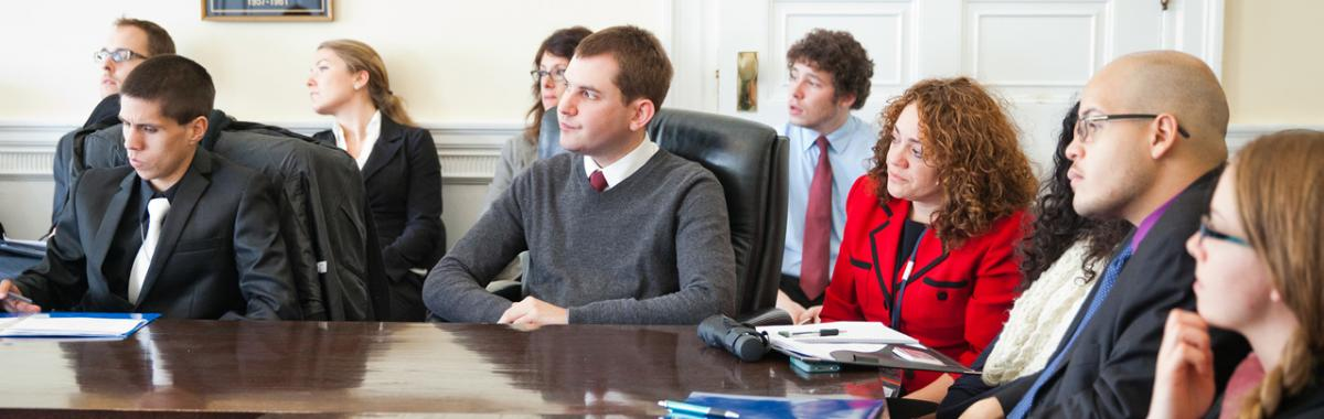University of Massachusetts School of Public Policy students at the Annual Washington DC Networking Trip