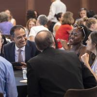 Photo of School of Public Policy kick-off event