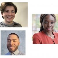 composite of headshots of the five CAP fellows